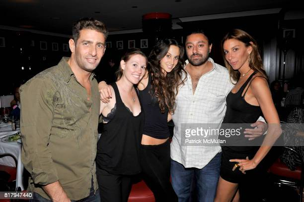 Jeffrey Jah Ali Kay Vikram Chatwal and Dori Cooperman attend Ali Kay Keep Me Collection Dinner hosted by Vikram Chatwal and Jeffrey Jah at The Lambs...