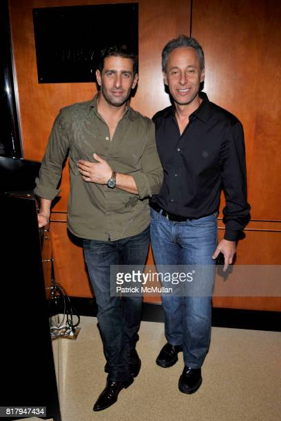 Jeffrey Jah and David Rabin attend Ali Kay Keep Me Collection Dinner hosted by Vikram Chatwal and Jeffrey Jah at The Lambs Club on September 15 2010...