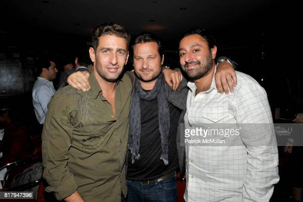 Jeffrey Jah and Vikram Chatwal attend Ali Kay Keep Me Collection Dinner hosted by Vikram Chatwal and Jeffrey Jah at The Lambs Club on September 15...