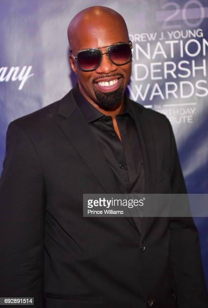Jeffrey 'JDub' Walker attends the 2017 Andrew Young International Leadership awards and 85th Birthday tribute at Philips Arena on June 3 2017 in...