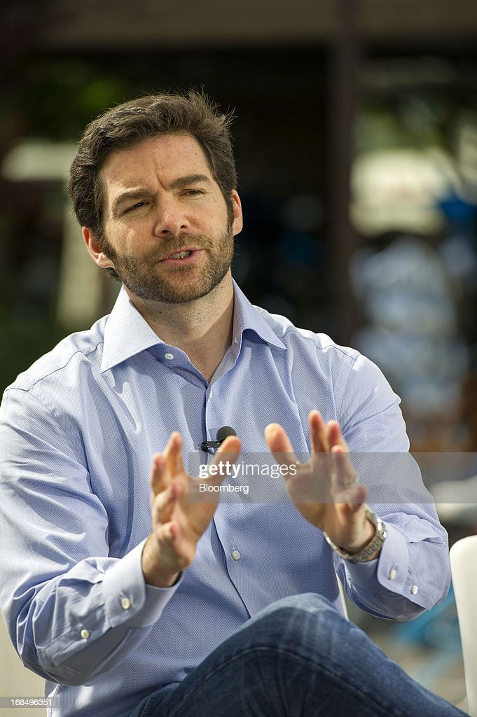 Jeffrey 'Jeff' Weiner, chief executive officer of LinkedIn Corp., speaks during a Bloomberg West television interview outside of the company's headquarters in Mountain View, California, U.S., on Thursday, May 9, 2013. The business-oriented network, which is celebrating its 10th anniversary, reported that revenue for the first-quarter of 2103 was $324.7 million, up from $188.5 million in the first quarter of 2012. Photographer: David Paul Morris/Bloomberg via Getty Images