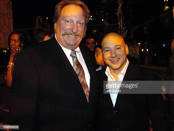 Jeffrey Jones and Evan Handler during HBO Golden Globe Awards Party Inside at Beverly Hills Hilton in Beverly Hills California United States