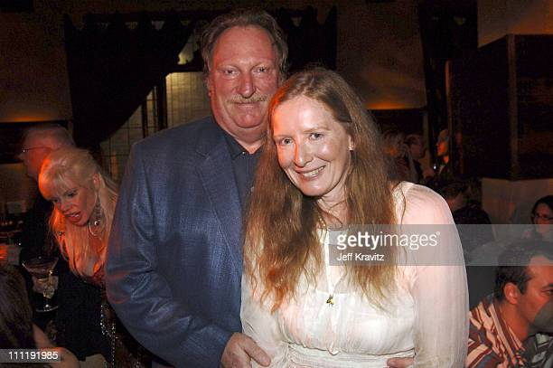Jeffrey Jones and Frances Conroy during HBO's 'Six Feet Under' Season 5 Premiere After Party at Grauman's Chinese Theater in Hollywood California...