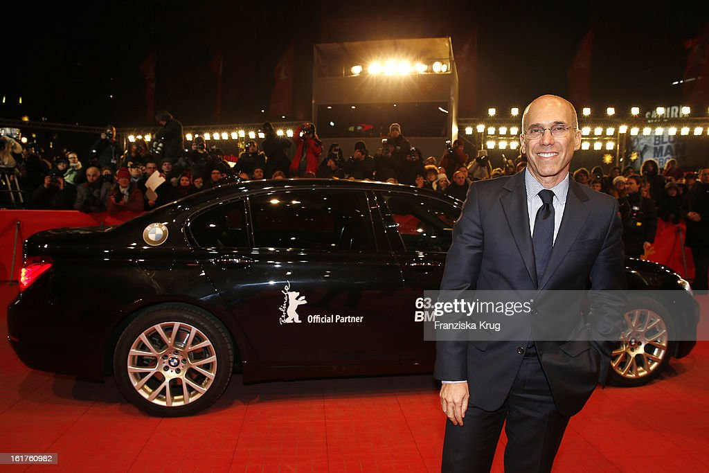 <a gi-track='captionPersonalityLinkClicked' href=/galleries/search?phrase=Jeffrey+Katzenberg&family=editorial&specificpeople=171496 ng-click='$event.stopPropagation()'>Jeffrey Katzenberg</a> attend 'The Croods' Premiere - BMW at the 63rd Berlinale International Film Festival at Berlinale Palast on February 15, 2013 in Berlin, Germany.