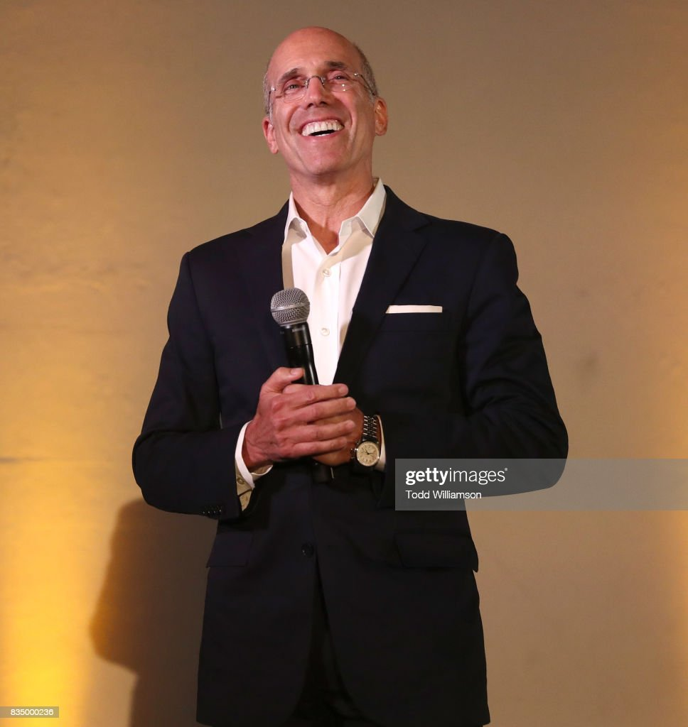 Jeffrey Katzenberg attends MPTF's NextGen Summer Party at NeueHouse Hollywood on August 17, 2017 in Los Angeles, California.