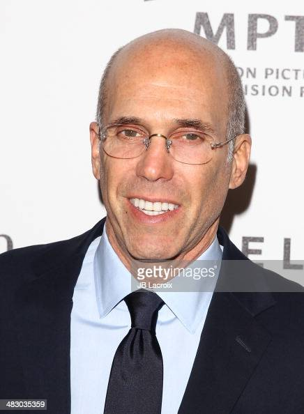 Jeffrey Katzenberg attends the 3rd Annual Reel Stories Real Lives Benefiting The Motion Picture Television Fund at Milk Studios on April 5 2014 in...
