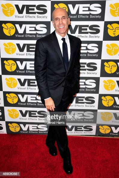 Jeffrey Katzenberg attends the Visual Effects Society's 12th Annual VES Awards at The Beverly Hilton Hotel on February 12 2014 in Beverly Hills...