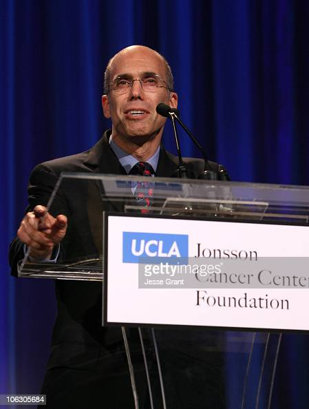 Jeffrey Katzenberg during 2007 Taste for a Cure at Beverly Wilshire Hotel in Beverly Hills California United States