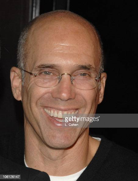 Jeffrey Katzenberg during 'Flags of Our Fathers' Los Angeles Premiere Red Carpet in Hollywood California United States