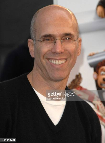 Jeffrey Katzenberg during 'Flushed Away' New York City Premiere Arrivals at AMC Lincoln Square in New York City New York United States