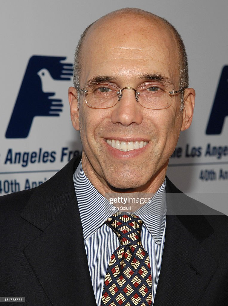 <a gi-track='captionPersonalityLinkClicked' href=/galleries/search?phrase=Jeffrey+Katzenberg&family=editorial&specificpeople=171496 ng-click='$event.stopPropagation()'>Jeffrey Katzenberg</a> during Los Angeles Free Clinic Annual Dinner Gala Honoring Paramount Pictures Corporation Chairman and CEO Brad Grey - Red Carpet at Beverly Hilton Hotel in Beverly Hills, California, United States.