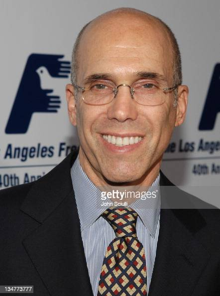 Jeffrey Katzenberg during Los Angeles Free Clinic Annual Dinner Gala Honoring Paramount Pictures Corporation Chairman and CEO Brad Grey Red Carpet at...
