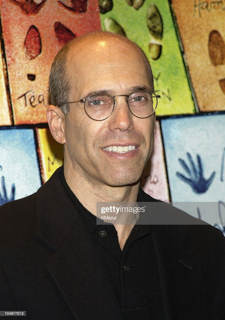 <a gi-track='captionPersonalityLinkClicked' href=/galleries/search?phrase=Jeffrey+Katzenberg&family=editorial&specificpeople=171496 ng-click='$event.stopPropagation()'>Jeffrey Katzenberg</a> during New York Premiere of 'Hollywood Ending' at Chelsea West Theatre in New York City, New York, United States.
