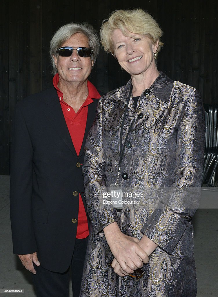 Jeffrey Marcus and Penelope Dwyer attend the Naming Celebration For Stewart F. Lane & Bonnie Comley Event Lawn at the Parrish Art Museum on August 29, 2014 in Water Mill, New York.