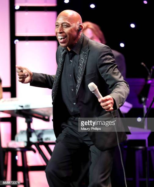 Jeffrey Osborne performs onstage during the 49th Annual Pioneer of African American Achievement Award dinner at The Beverly Hilton Hotel on December...