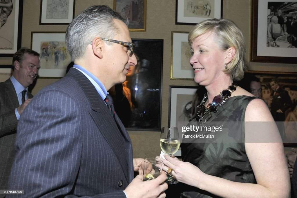 Jeffrey Podolsky and Sara Dodd-Spickelmier attend ANNE HEARST MCINERNEY, JAY MCINERNEY and GEORGE FARIAS Holiday Party at 21 Club on December 16, 2010 in New York City.