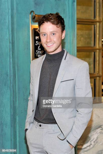 Jeffrey Postlethwaite celebrates the Compartes Chocolatier Century City Flagship Store Opening on September 27 2017 in Los Angeles California