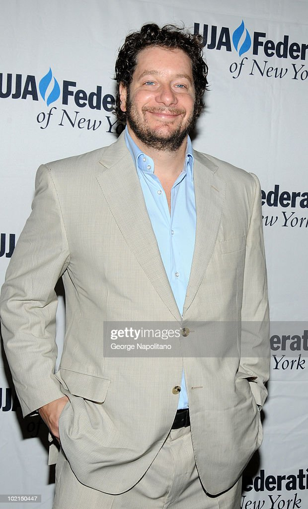 Jeffrey Ross attends the UJA-Federation's 2010 Music Visionary of the Year award luncheon at The Pierre Ballroom on June 16, 2010 in New York City.