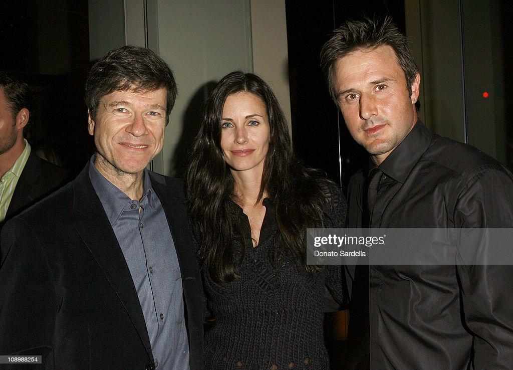 Jeffrey Sachs, Courteney Cox and David Arquette *EXCLUSIVE*
