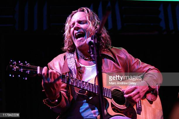Jeffrey Steele during Country Takes New York City CMA Songwriters Series Day 3 at Joe's Pub in New York City New York United States