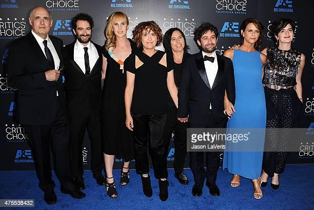 Jeffrey Tambor Jay Duplass Zackary Drucker Jill Soloway Joe Lewis Amy Landecker and Gaby Hoffmann attend the 5th annual Critics' Choice Television...