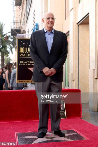 Jeffrey Tambor star of the Amazon Prime Video series Transparent is honored with a star on the Hollywood Walk of Fame on August 8 2017 in Hollywood...