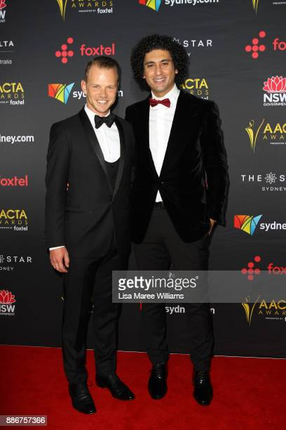 Jeffrey Walker and Osamah Sami attends the 7th AACTA Awards Presented by Foxtel | Ceremony at The Star on December 6 2017 in Sydney Australia