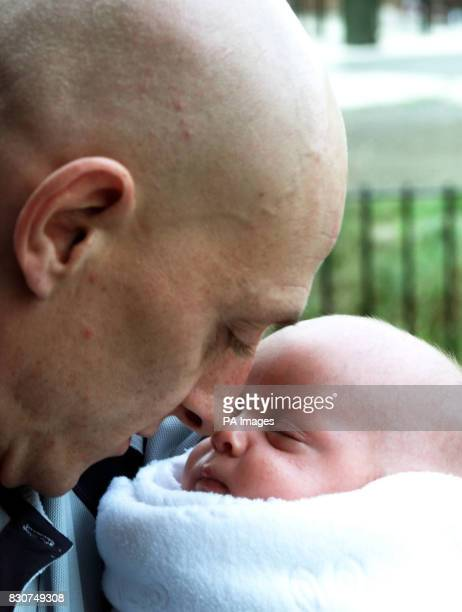 Jeffrey Watson father of 15 yearold Suzanne Watson from Newcastle who died from lung cancer shortly after giving birth to twins with his grandson...