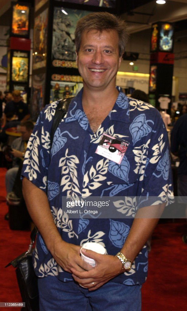 Jeffrey Willerth during 2002 San Diego Comic Con International - Day Three at San Diego Convention Center in San Diego, California, United States.