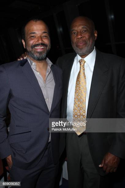 Jeffrey Wright and Howard Bingham attend HOWARD BINGHAM to be Honored with the OUR TIME AWARD at Jack H Skirball Center for the Performing Arts on...