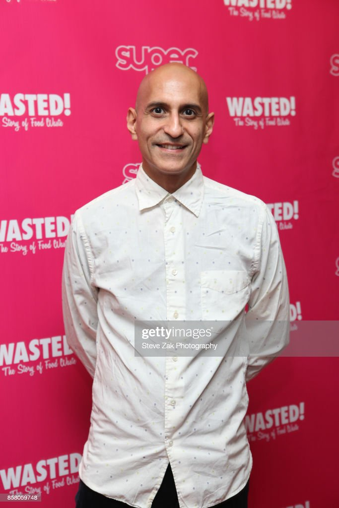 Jehangir Mehta attends 'Wasted! The Story Of Food Waste' New York Premiere at Alamo Drafthouse Cinema on October 5, 2017 in the Brooklyn borough of New York City.