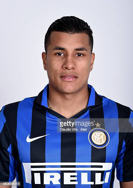 Jeison Murillo of FC Internazionale poses for his Serie A 20152016 season official headshot at Riscone di Brunico on July 14 2015 in Bruneck Italy