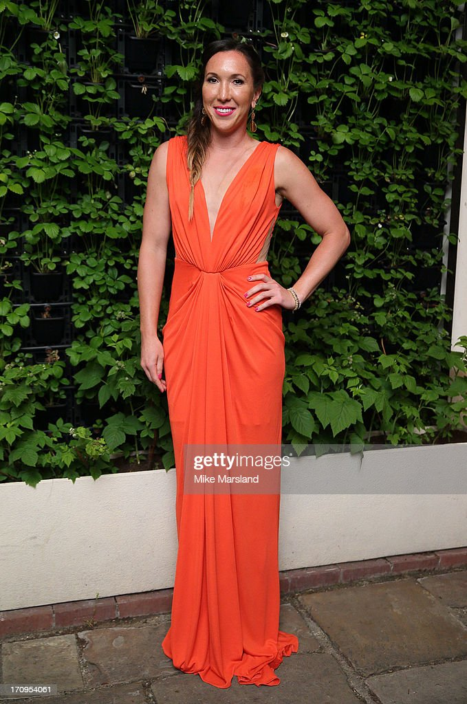 <a gi-track='captionPersonalityLinkClicked' href=/galleries/search?phrase=Jelena+Jankovic&family=editorial&specificpeople=217552 ng-click='$event.stopPropagation()'>Jelena Jankovic</a> attends the annual pre-Wimbledon party at Kensington Roof Gardens on June 20, 2013 in London, England.
