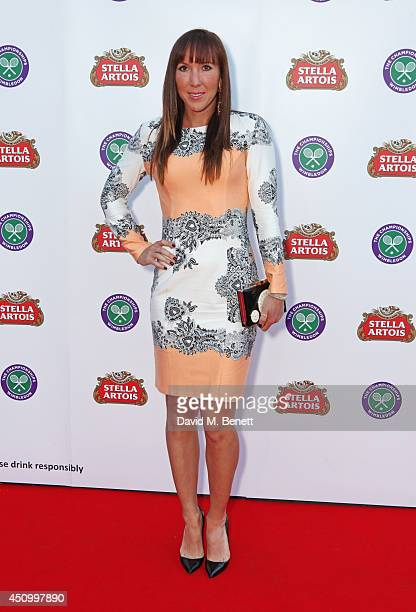 Jelena Jankovic attends the Stella Artois Wimbledon 2014 official launch party at Cannizaro House on June 21 2014 in London England Stella Artois is...