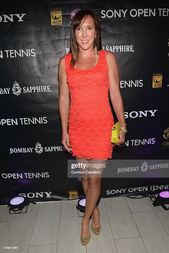 <a gi-track='captionPersonalityLinkClicked' href=/galleries/search?phrase=Jelena+Jankovic&family=editorial&specificpeople=217552 ng-click='$event.stopPropagation()'>Jelena Jankovic</a> of Serbia attends the players party held at Cavalli Miami on March 18, 2014 in Miami Beach, Florida.