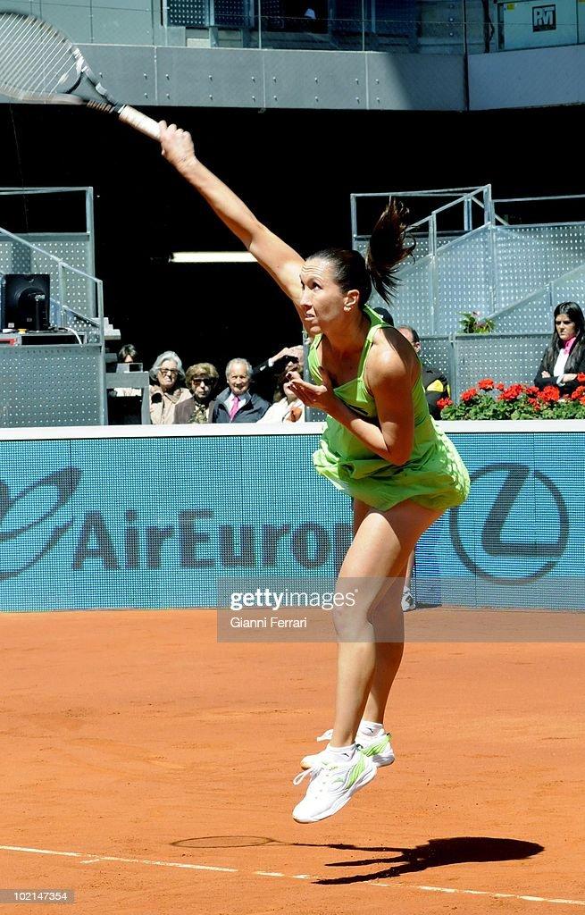 Jelena Jankovic, RUS, tennis in 'Mutua Madrilena Madrid Open' , 8th May 2010, in 'La Caja Magica'. Madrid, Spain.