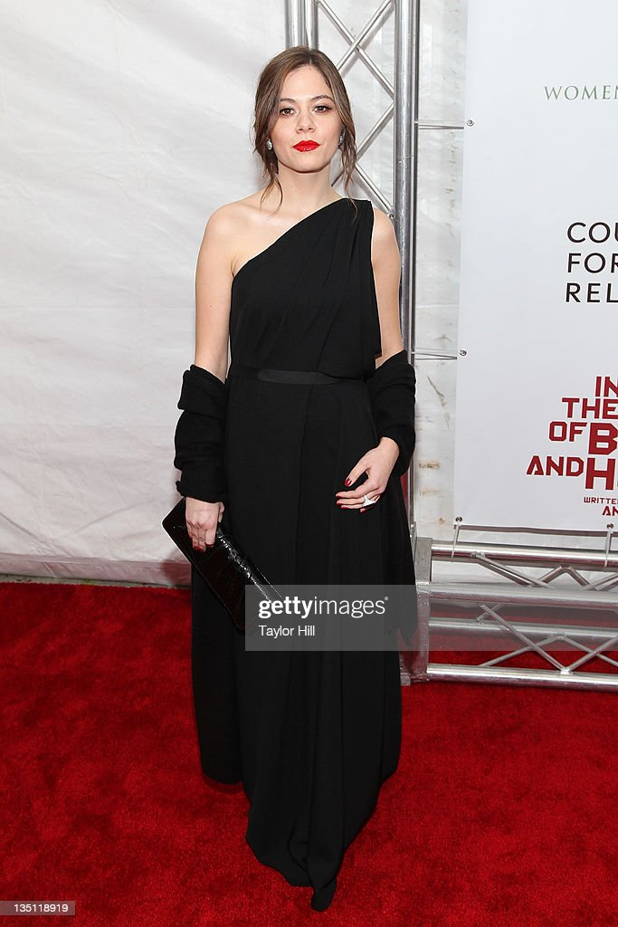 Jelena Jovanova attends the premiere of 'In the Land of Blood and Honey' at the School of Visual Arts on December 5, 2011 in New York City.