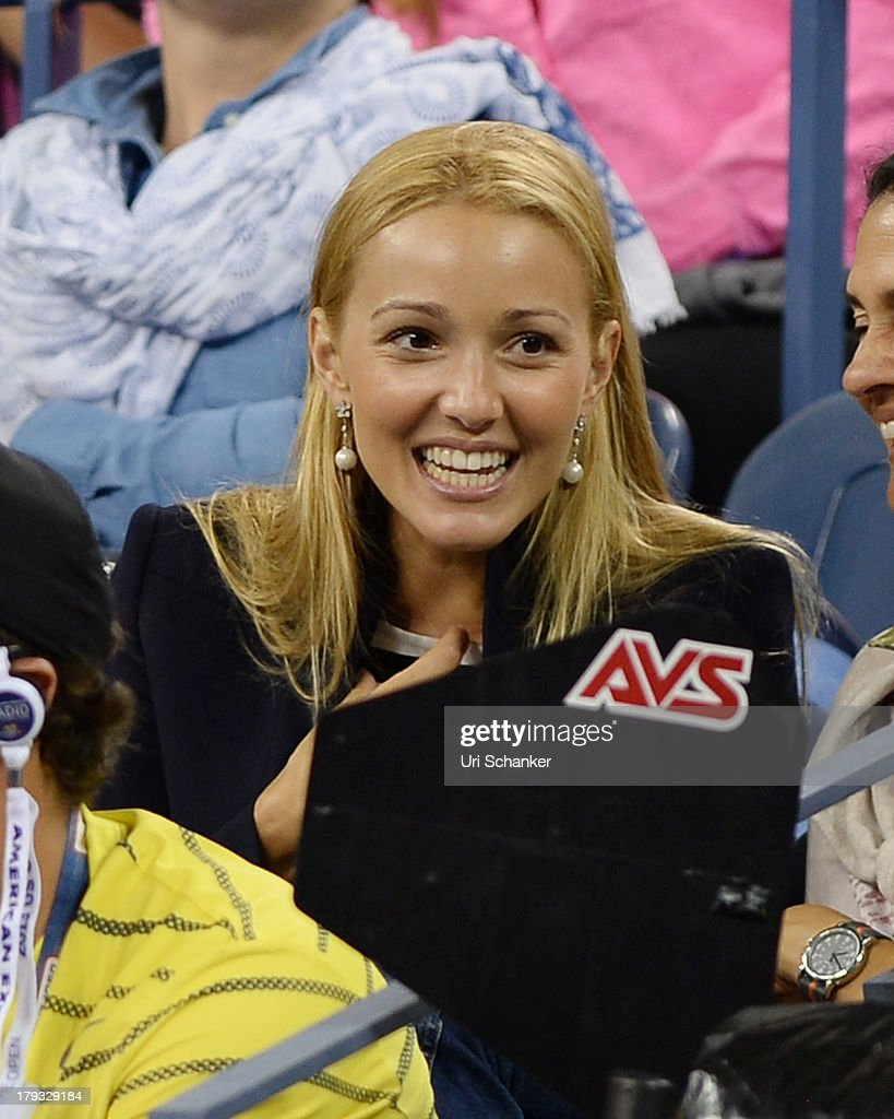 <a gi-track='captionPersonalityLinkClicked' href=/galleries/search?phrase=Jelena+Ristic&family=editorial&specificpeople=5608157 ng-click='$event.stopPropagation()'>Jelena Ristic</a> attends the 2013 US Open at USTA Billie Jean King National Tennis Center on September 1, 2013 in New York City.