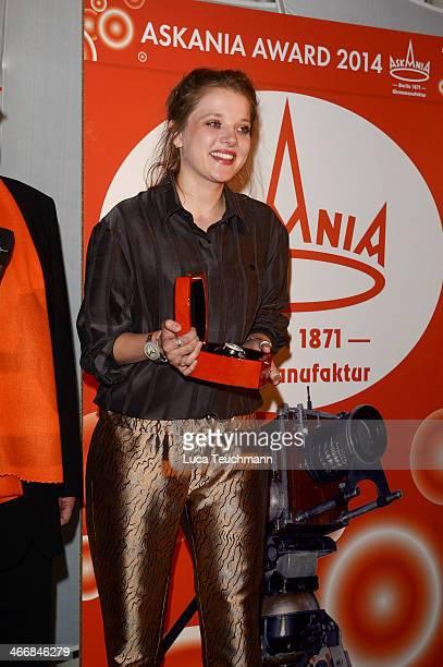 Jella Haase attends Askania Award 2014 at Kempinski Hotel Bristol on February 4 2014 in Berlin Germany
