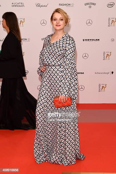 Jella Haase attends Kryolan at the Bambi Awards 2014 on November 13 2014 in Berlin Germany