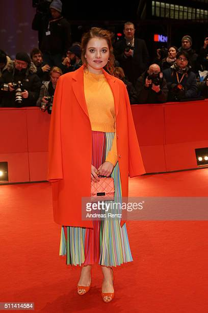 Jella Haase attends the closing ceremony of the 66th Berlinale International Film Festival on February 20 2016 in Berlin Germany