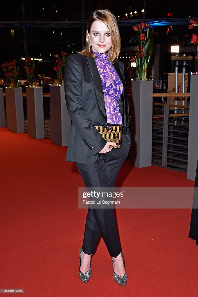 Jella Haase attends the 'Hail Caesar' premiere during the 66th Berlinale International Film Festival Berlin at Berlinale Palace on February 11 2016...