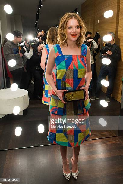 Jella Haase attends the Kilian Kerner store opening on February 25 2016 in Berlin Germany