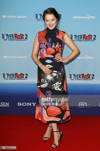 Jella Haase attends the Ritter Rost 2 Das Schrottkomplott Premiere at Mathaeser Filmpalast on January 15 2017 in Munich Germany