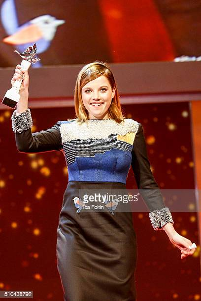 Jella Haase during the presentation of the European Shooting Stars 2016 as part of the 66th Berlinale International Film Festival Berlin at Berlinale...