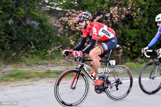 Jelle Vanendert of Lotto Soudal during the stage 1 of the Etoile of Besseges on February 1 2017 in Beaucaire France