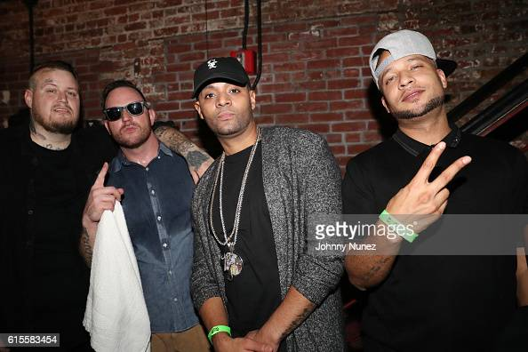 Jelly Roll Bubba Sparxxx Tru Life and Tone attend Brooklyn Bowl on October 18 2016 in New York City