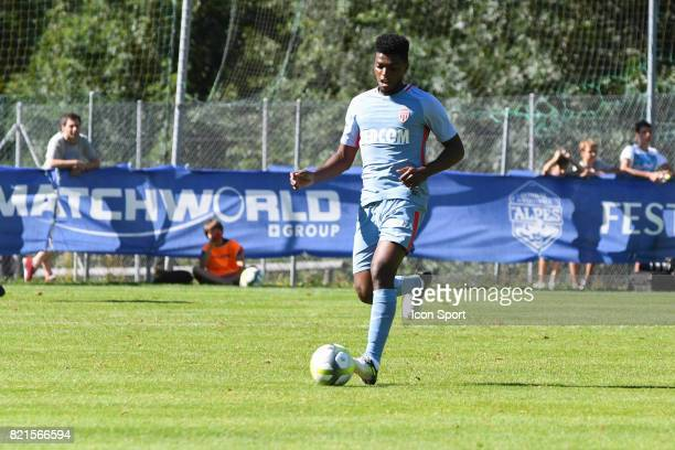 Jemerson during the friendly match between As Monaco and PSV Eindhoven on July 16 2017 in Le Chable Switzerland