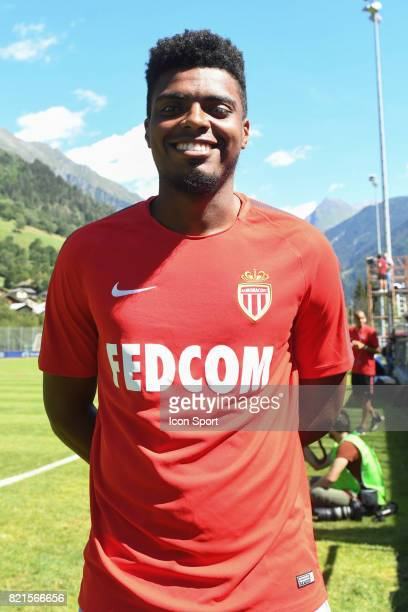 Jemerson Nascimento during the friendly match between As Monaco and PSV Eindhoven on July 16 2017 in Le Chable Switzerland