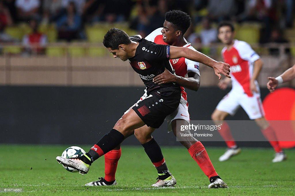 AS Monaco FC v Bayer 04 Leverkusen - UEFA Champions League : News Photo